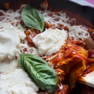 Skillet Eggplant Lasagna