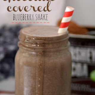 Chocolate Covered Blueberry Protein Shake