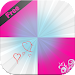 Pink Tiles Piano Icon