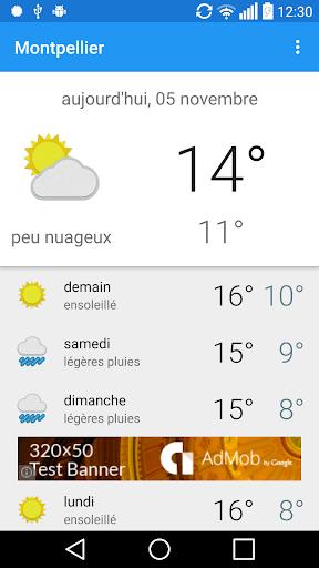 Montpellier - météo