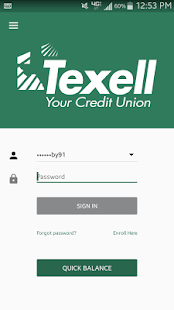 Texell Credit Union- screenshot thumbnail