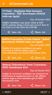 All Government Job ( free sarkari naukri alerts) - Apps on