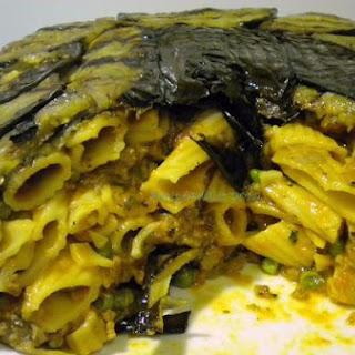 Eggplant Timbale.