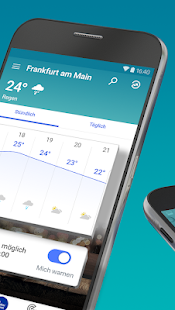 Wetter App mit Regen Radar - The Weather Channel Screenshot