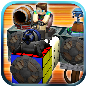 Blocky Pixel Car Craft Creator for PC and MAC