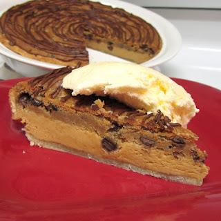 Chocolate Chip-Peanut Butter Layer Pie.