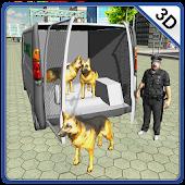 Police Dog Transporter Truck