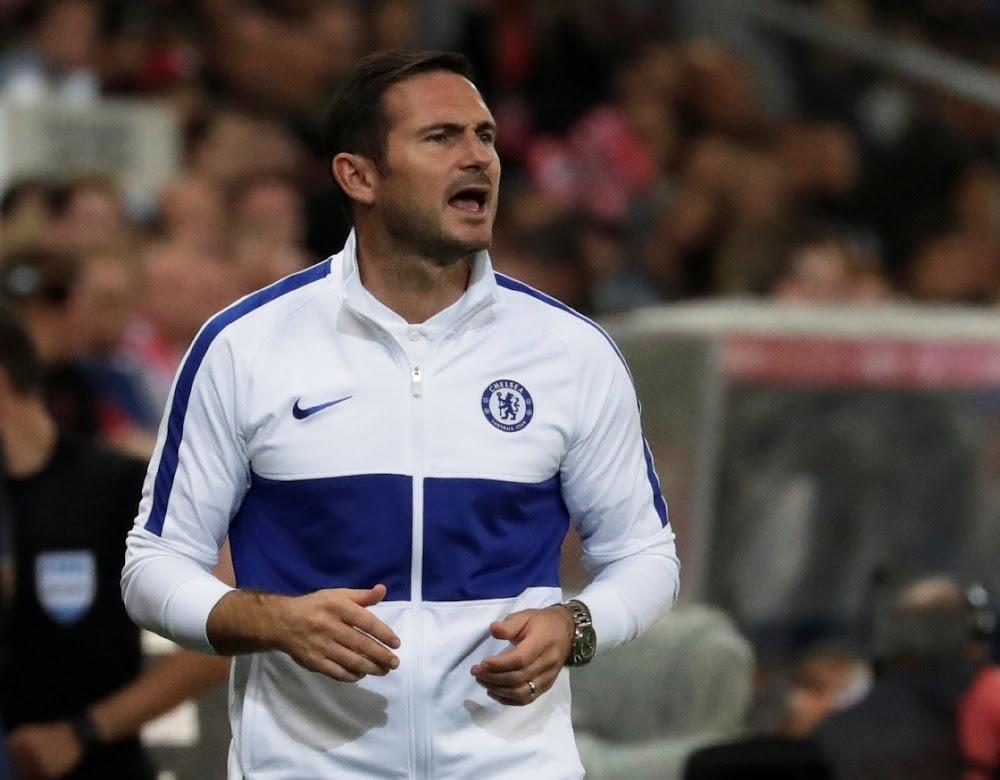 Die druk op Frank Lampard as groot Chelsea neem die leiding