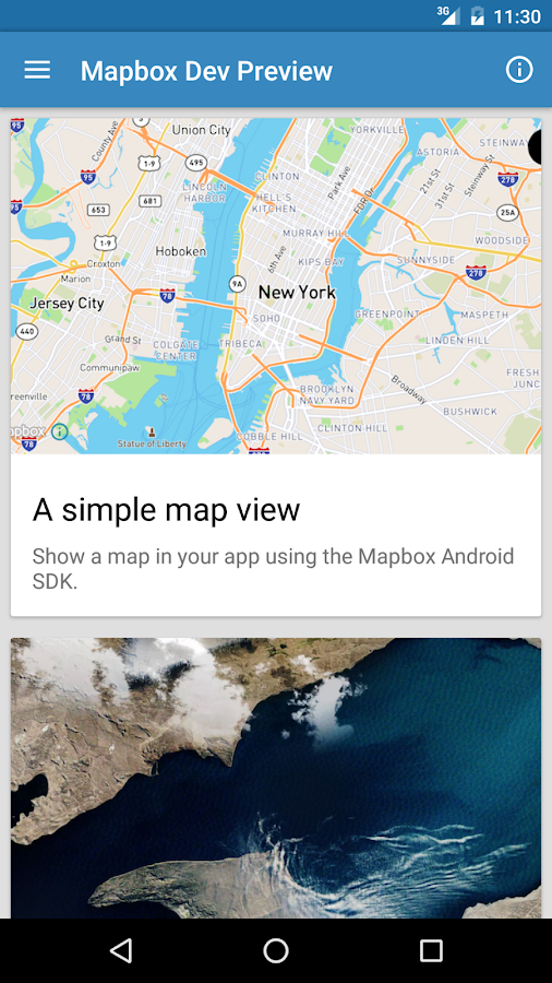 Mapbox Dev Preview- screenshot