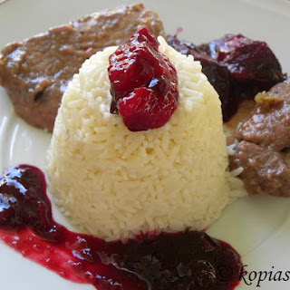 Pork with Commandaria and Prunes Recipe