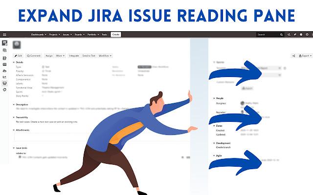 Jira Issue: Full Width