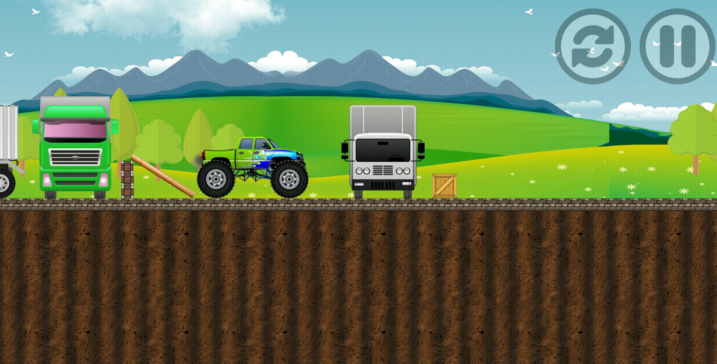 Monster Truck City Surfer- screenshot