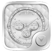 Platinum GO Clock Theme