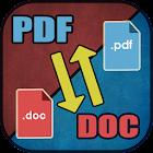 Como Convertir Documento a PDF o PDF  a Documento. icon