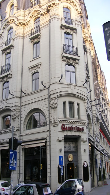 Gambrinus Restarant in Bucharest Romania