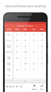 ScorePal - náhled