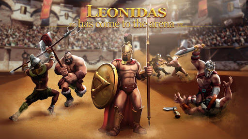 Gladiator Heroes Clash: Fighting and Strategy Game 3.2.3 screenshots 1