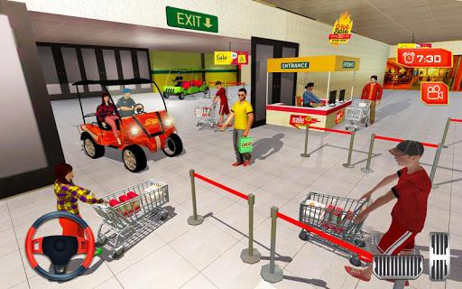 Shopping mall car Taxi driving & Parking 2019 1.2 screenshots 2