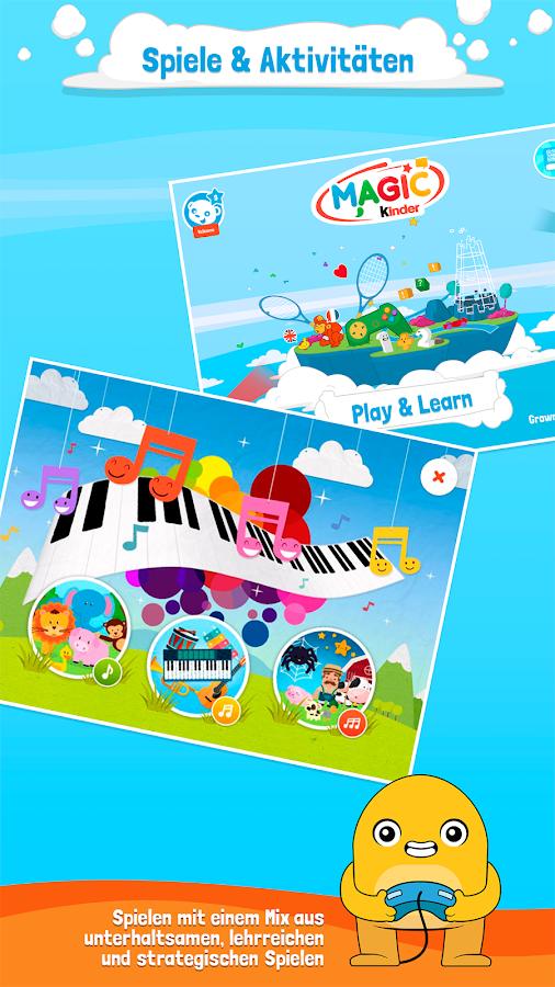 magic kinder spiele f r kids android apps auf google play. Black Bedroom Furniture Sets. Home Design Ideas
