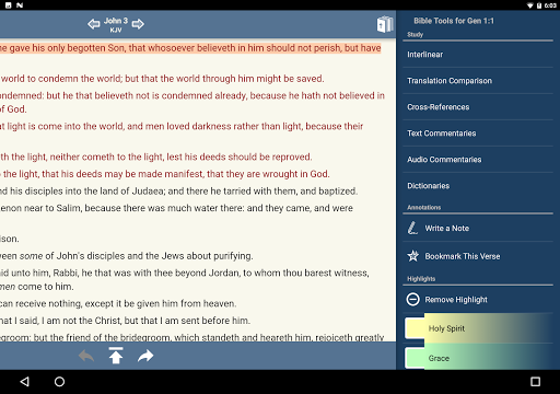 Blue Letter Bible app (apk) free download for Android/PC/Windows