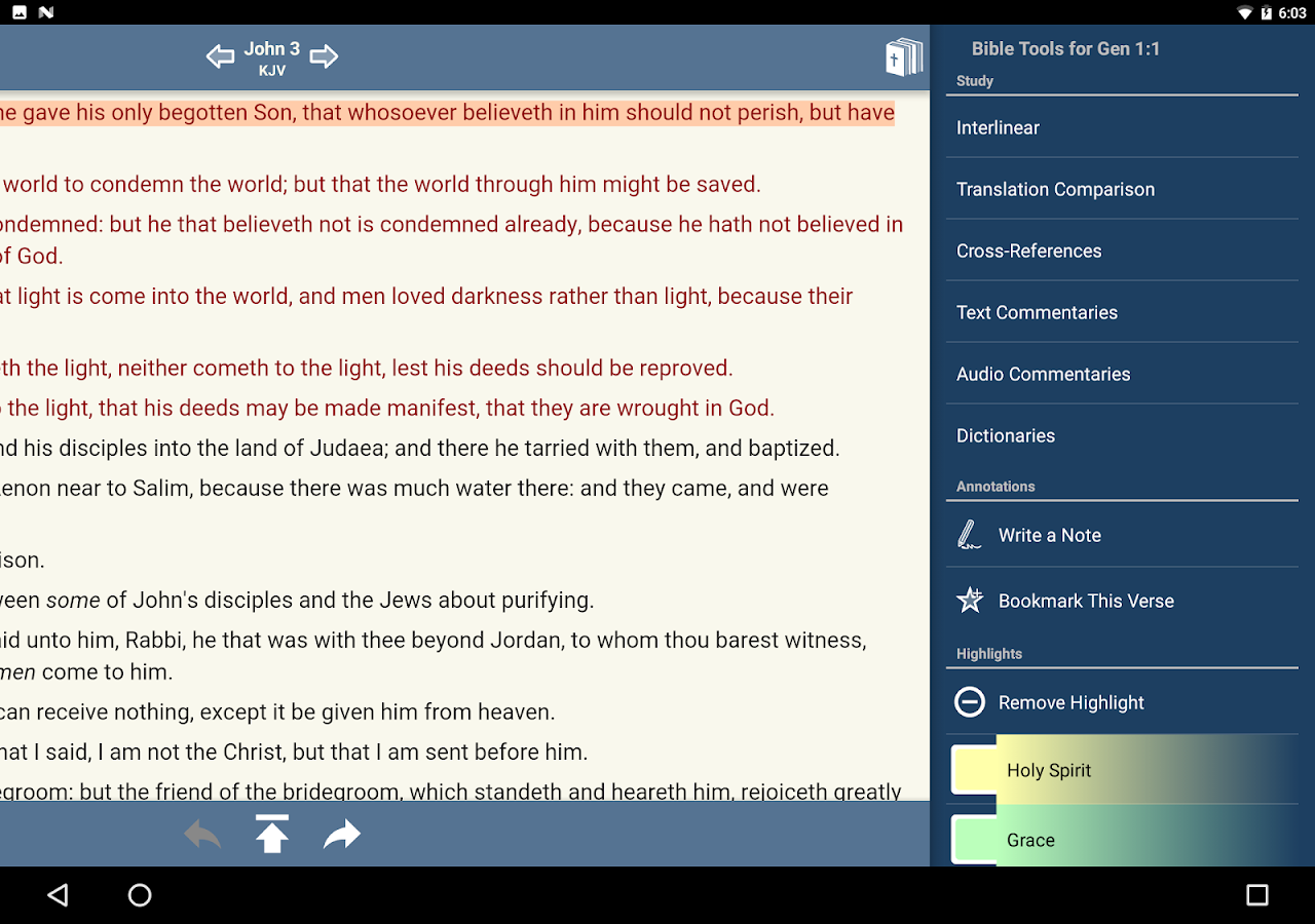 dig deep into god s word with over 15 available bibles text ...