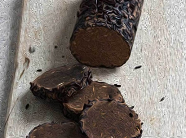 Remove the log from the refrigerator, and slice into 1/4-inch (.6mm) medallions.