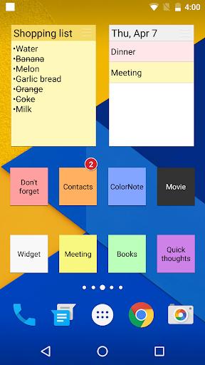 ColorNote Notepad Notes 4.0.7 screenshots 2