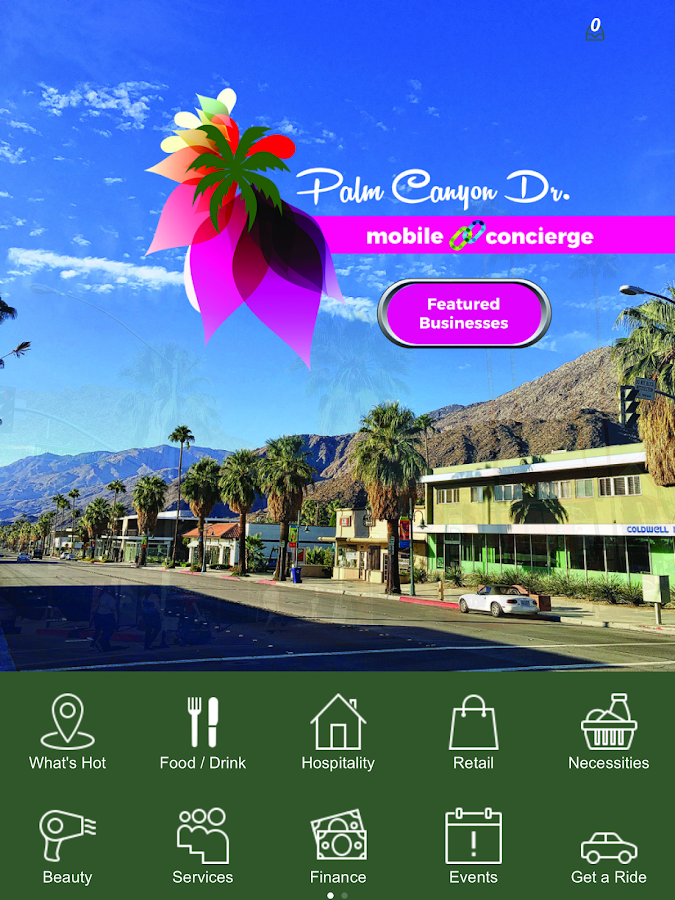 Palm Canyon Drive- screenshot