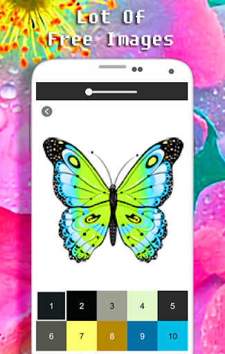 Butterfly Coloring Book - Color By Number apkdebit screenshots 6