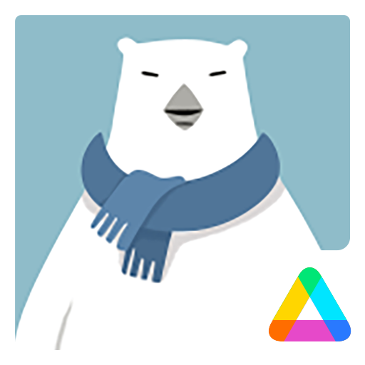 3D Polar Bear Air Launcher Theme