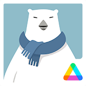 3D Polar Bear Air Launcher Theme