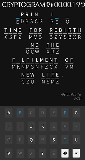 Cryptogram screenshots 2