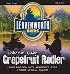 Leavenworth Toketie Lake Grapefruit Radler