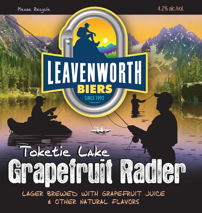 Logo of Leavenworth Toketie Lake Grapefruit Radler
