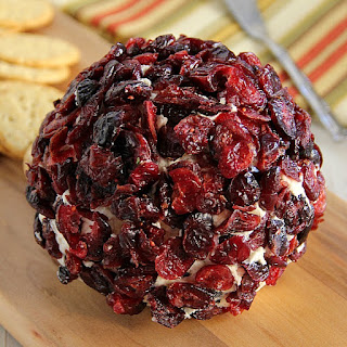 Cranberry Pecan and White Cheddar Cheese Ball.