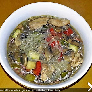 Bihun Suppe für den Crock Pot (Slow Cooker)