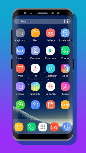 لالروبوت S8 UI - Icon Pack تطبيقات screenshot