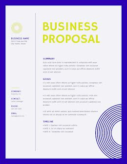 Solid Proposal - Business Proposal item