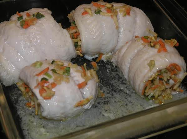 Apple Stuffed Fish Recipe