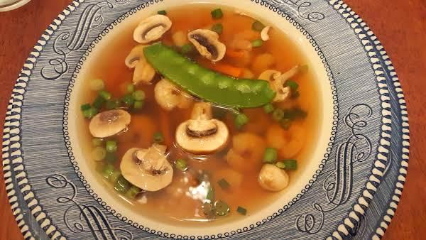 Asian Style Shrimp Soup