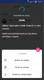 Zenpark, book a parking space- screenshot thumbnail