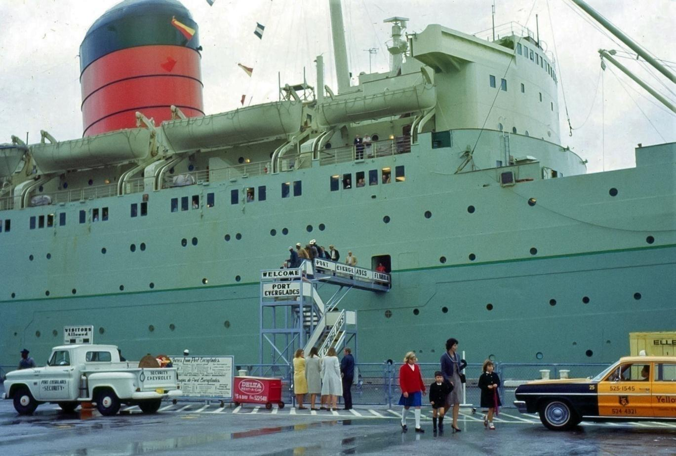 D:\Bill\Pictures\Tony87\Ships Color Done\Carmania in Port Everglades 1966.jpg