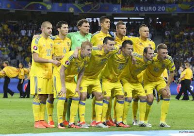 Polémique en Russie au sujet des maillots de l'Ukraine pour l'Euro 2020