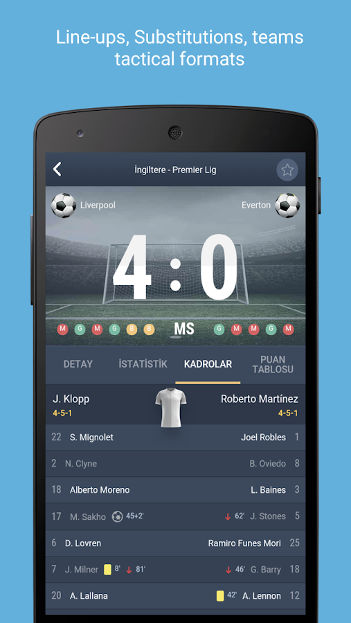 Super Live Score- screenshot