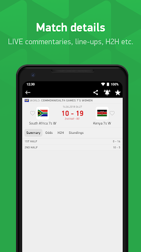FlashScore Kenya 3.3.1 Screenshots 4