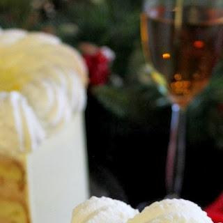 Hazelnut Cake With Chestnut Mousse.