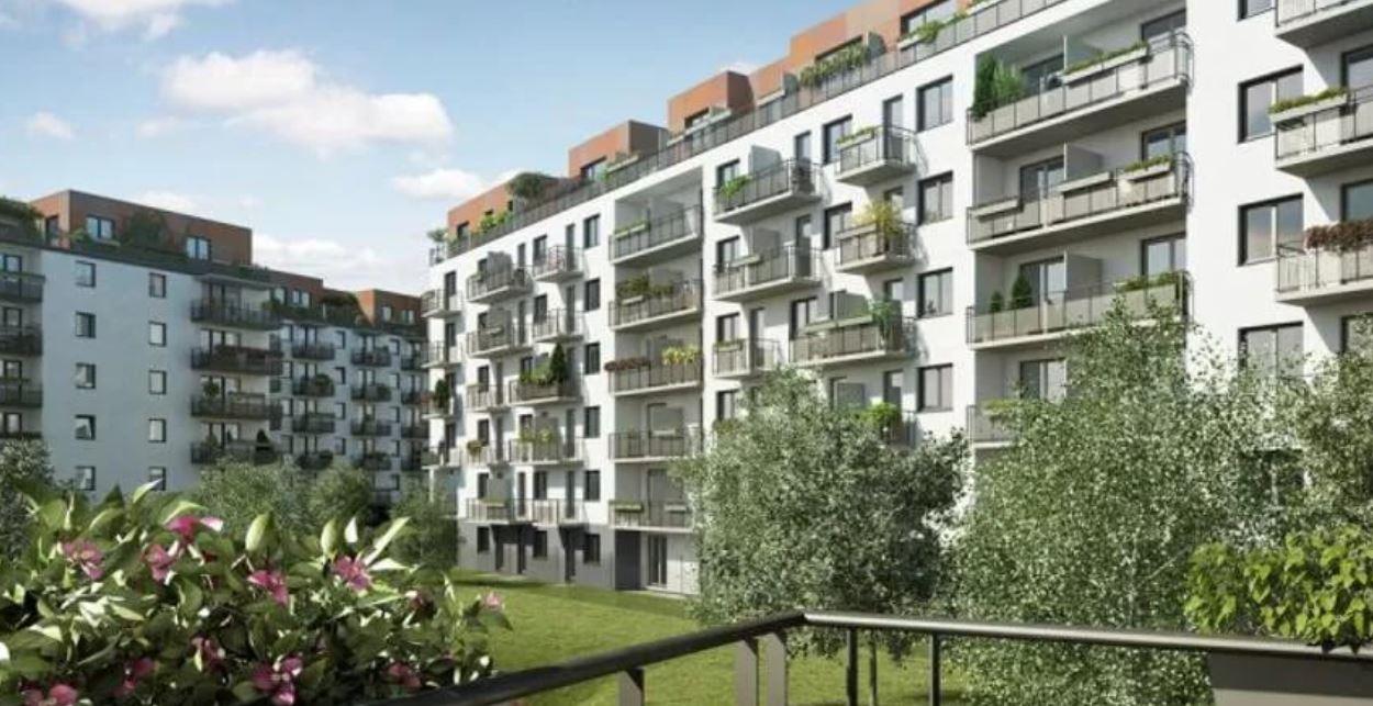 современные жилые комплексы Прага 9