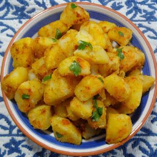Batatas Bravas – Spicy Potatoes.