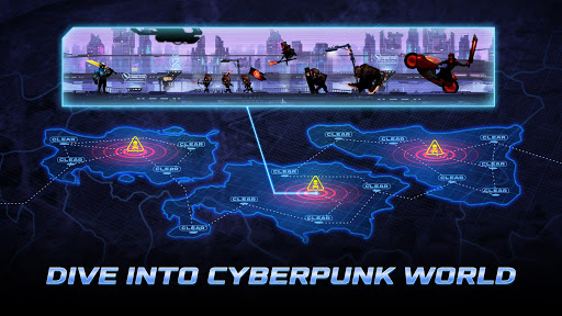 Cyber Fighters: Legends Of Shadow Battle screenshots 1