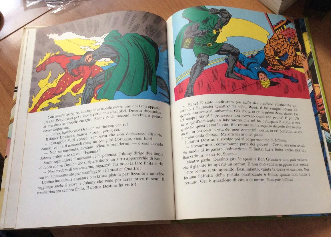 I supereroi libro cartonato mondadori 1981 con hulk thor l - Libro da colorare uomo ragno libro ...
